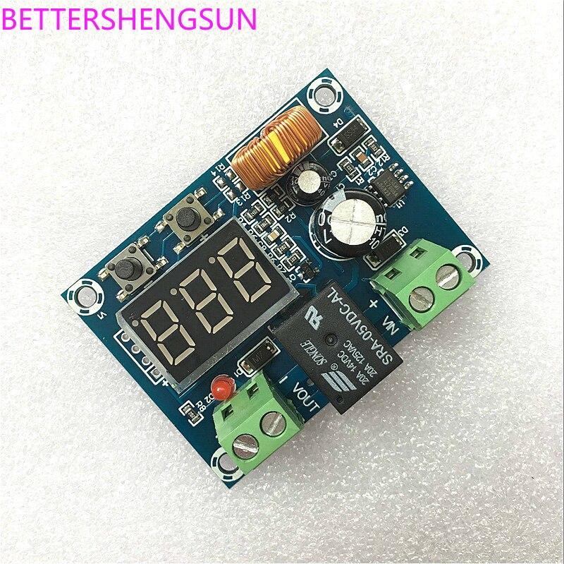 XH-M609 DC Voltage Protection Module Lithium Battery Under-voltage Deficit Low Voltage Disconnection Output 12-36V