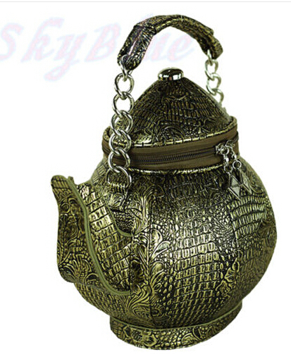 Amliya New Portable Diagonal Shaped Handbags Chinese Teapot Vintage Shoulder Bags Bottle Tote Ancient Pot China In From Luggage On