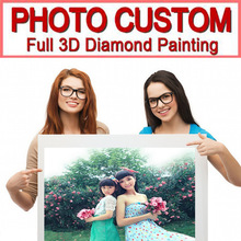 Photo Custom Diamond Painting Private custom Make Your Own 5D DIY  Embroidery 3D Full Dril Mosaic gift