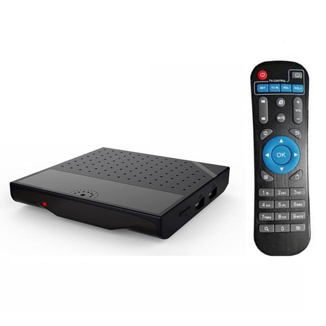 Mecool KM8 P Caja de la TV Android 6.0 Amlogic S912 Octa Core CPU 1G RAM 8G ROM 128G Max. Ext Corteza A53 Muchas Películas Reproductor de Set-top Box