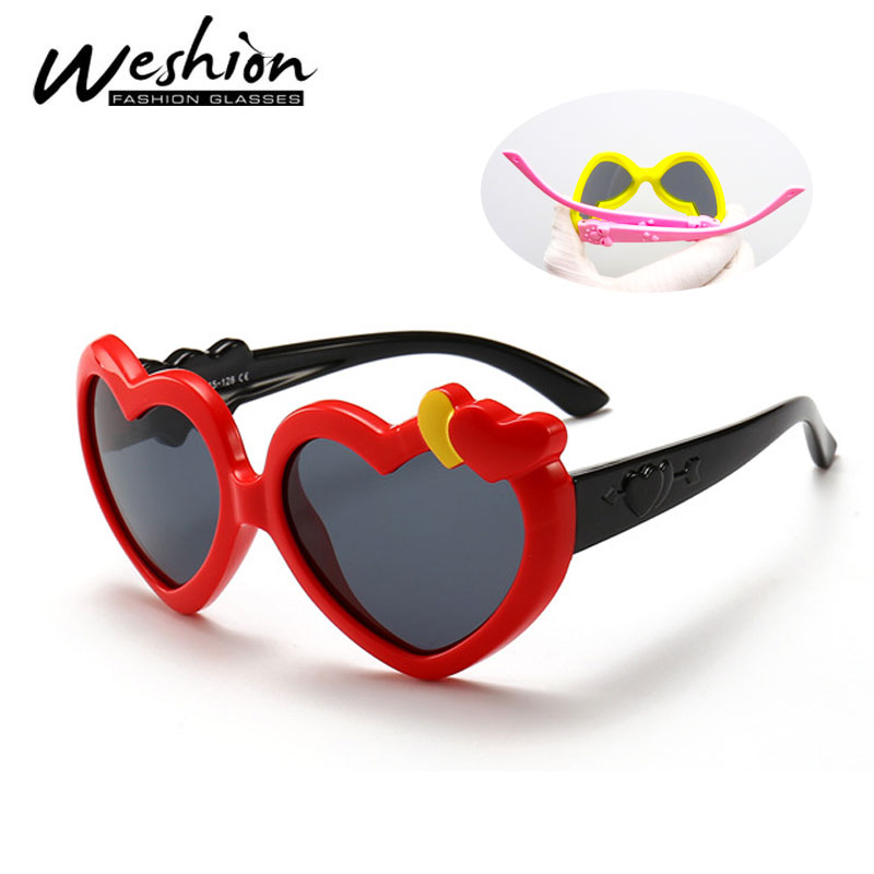 Kids Round Butterfly Shaped UV400 Sunglasses for Girls ages 3 to 12 10510-01