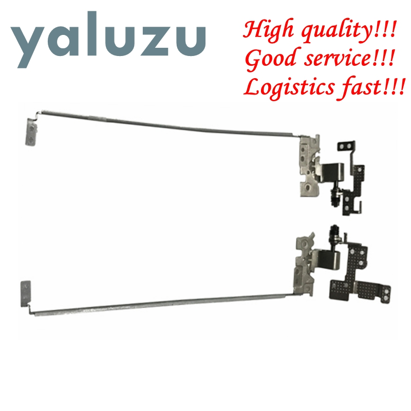 YALUZU 1PC New Laptop LCD Hinges Set L&R For Lenovo E31-70 20520 80KC E31-80 80MX U31 U31-70 U31-80 L&R AM1BM000400 AM1BM000500