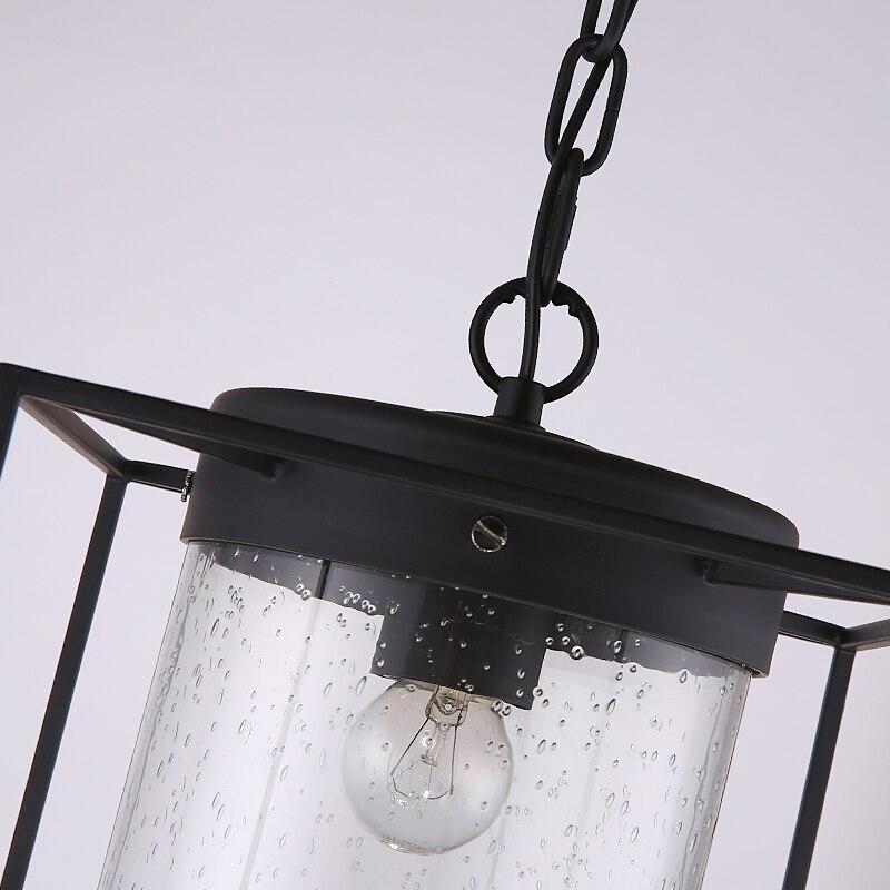 Retro minimalista transpaent burbujas de cristal colgante luces ...