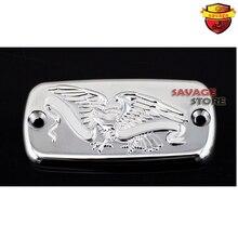 Motorcyle Front Brake Cylinder Reservoir Cover Cap Eagle For HONDA CB400 CB750 CB1100 CB1300 CB1300S