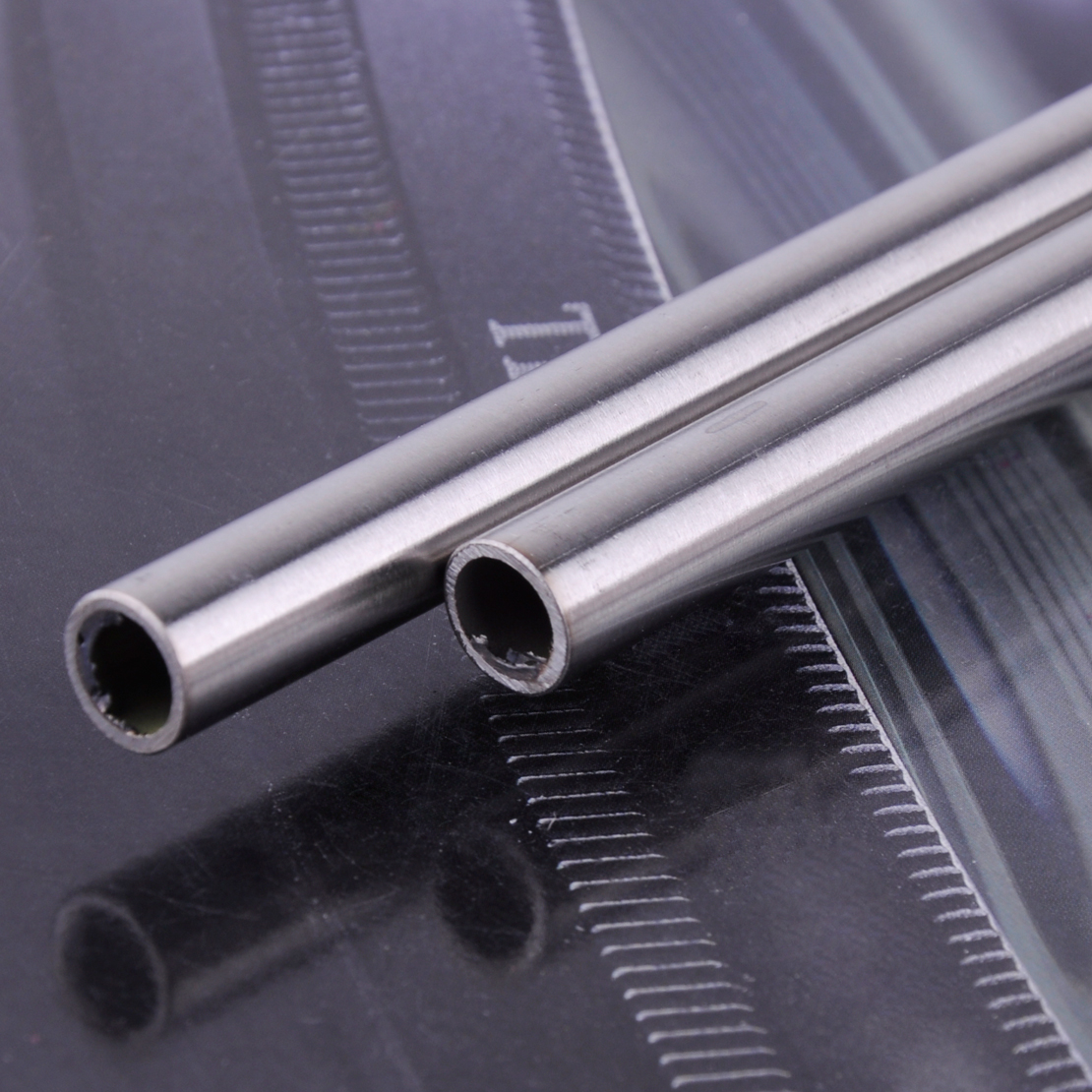 LETAOSK High Quality 2pcs 304 Stainless Steel Capillary Tube Pipe OD 10mm ID 8mm Length 0.5M 500mm