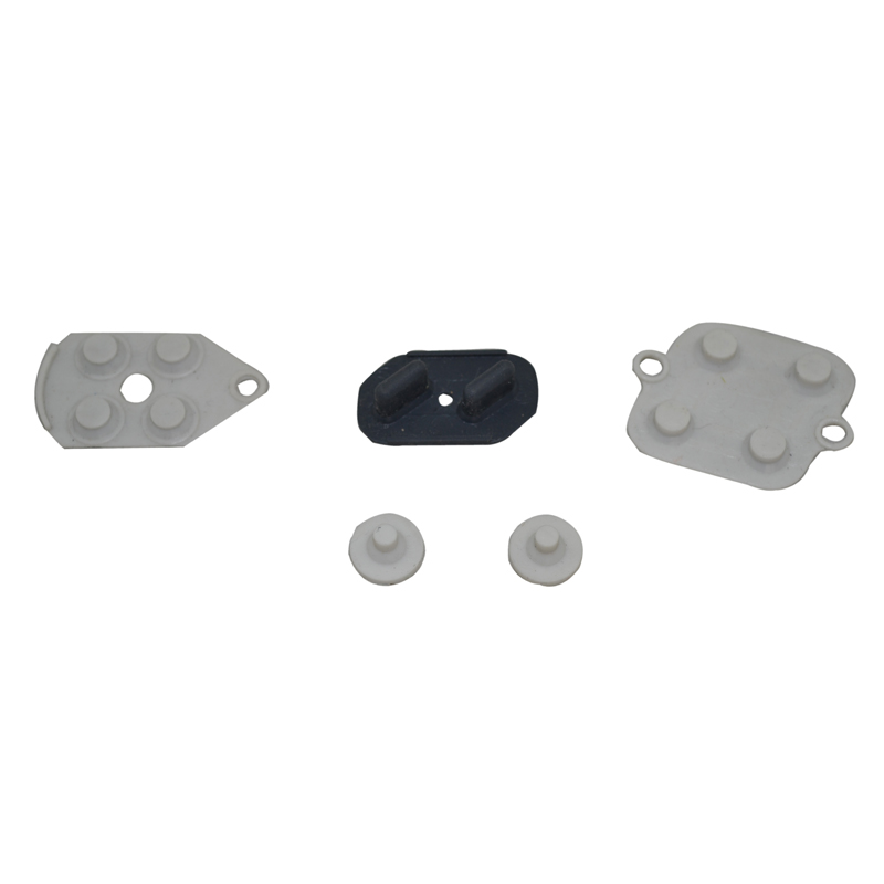 2 Sets For Super Nintendo SNES Conductive Rubber Silicon Pads  Controller Repairs For S-FC