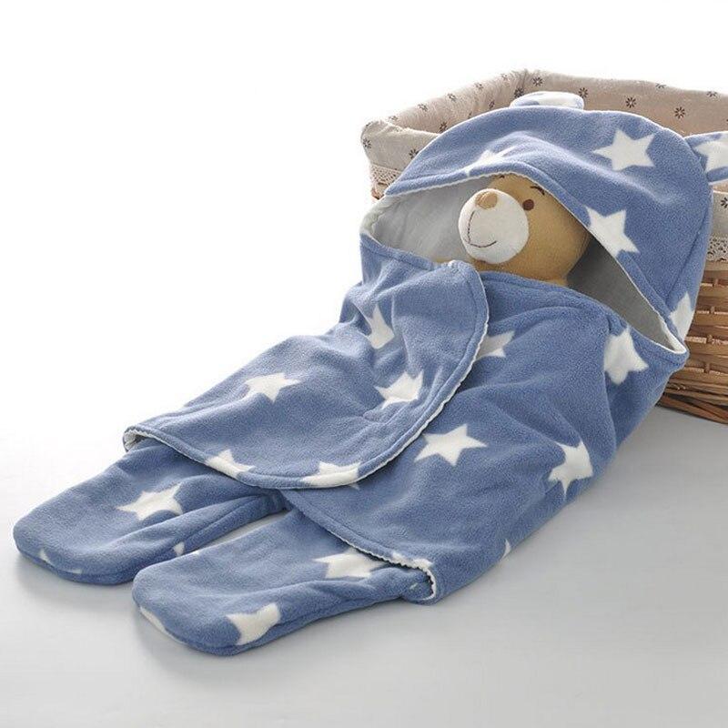 Swaddle Wrap Baby Blanket Envelope For Newborns Sleeping