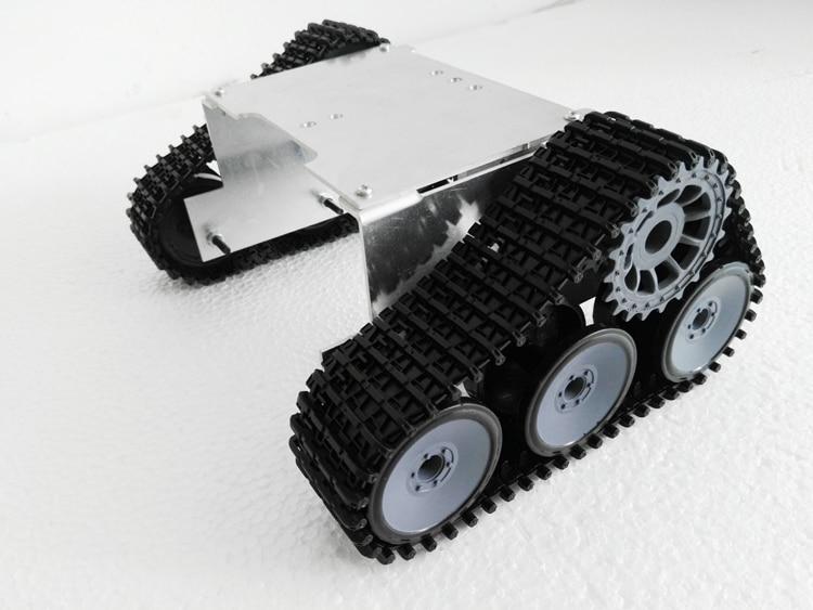 NEW ROT-4  metal robot tank chassis platform DIY kit cawler for arduino