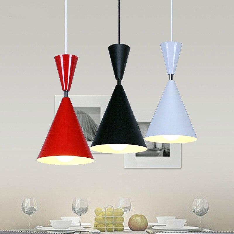 3pieces/lot Modern Pendant Lights Pendant Lamp Light Fixtures aluminum E27 110v-220v For Decor Lustre Loft Led Lamp3pieces/lot Modern Pendant Lights Pendant Lamp Light Fixtures aluminum E27 110v-220v For Decor Lustre Loft Led Lamp