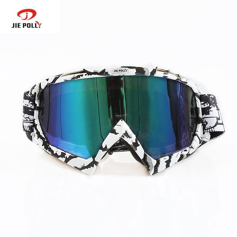 Jiepolly 2018 HOT Sale Motocross Helmet Goggles Moto Cross Dirtbike Motorcycle Helmets Goggles Glasses Skiing Skating Eyewear