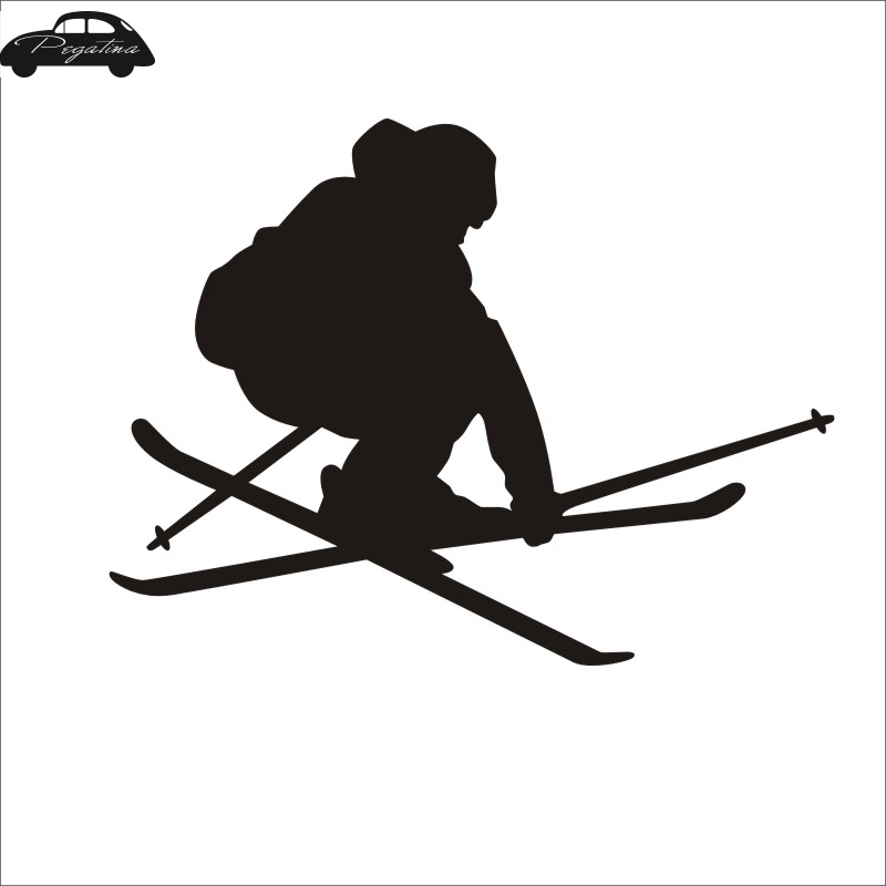 American Vinyl I AM Difficult Double Diamond Sticker Snow ski Snowboard Decal