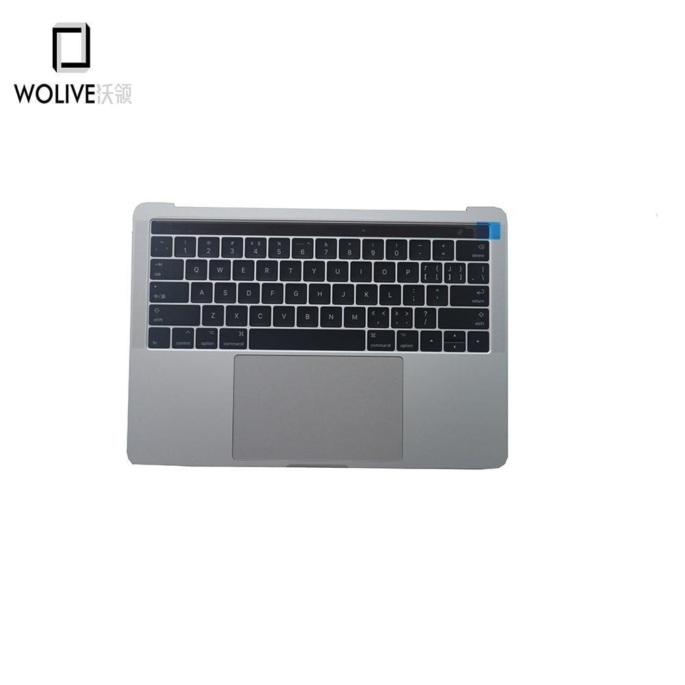 Original New Silver A1706 Palm Rest For Macbook Pro 13
