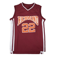 Timo Cruz #22 Richmond Oilers Carter Basketball Jersey Men Women Youth Movie T Shirts Custom Stitch Your Name Number Any Size