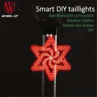 RAD UP Smart DIY LED Taschenlampe USB-Fahrrad Licht hinten Laterne Für Eine Nacht Licht Fahrradbeleuchtung Led licht