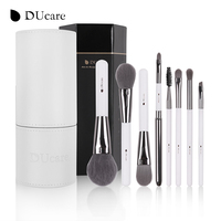 DUcare 8PCS Set Makeup Brushes Sets Professional Synthetic Hairs Foundation Eyeshadow Makeup Brush Kits With White