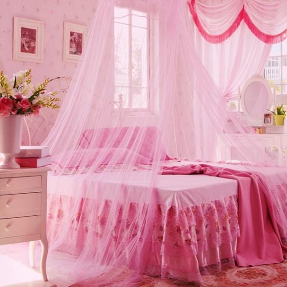 crazycity baby klamboe netting kind peuter bed slaapkamer crib canopy netting 2 kleuren voor kiezen gratis verzending l5 in crazycity baby klamboe netting