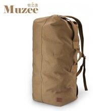 Muzee Huge Travel Bag Large Capacity Men backpack Canvas Weekend Bags Multifunctional Travel Bags