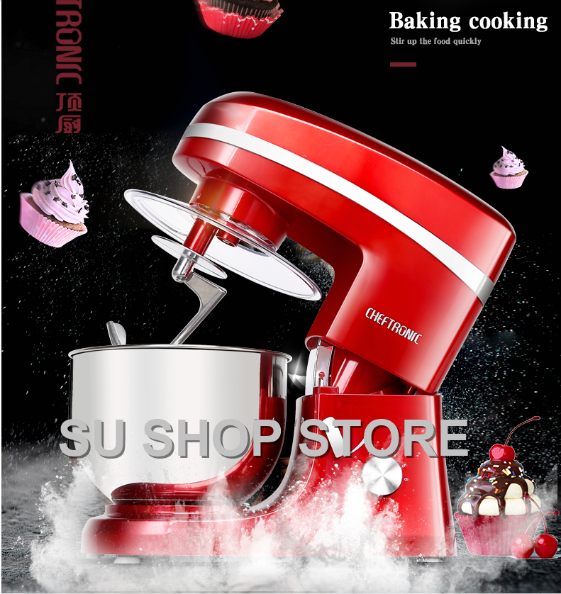 7 Liters electric stand mixer, food mixer, food blender, cake/egg/dough mixer, milk shakes, milk mixer