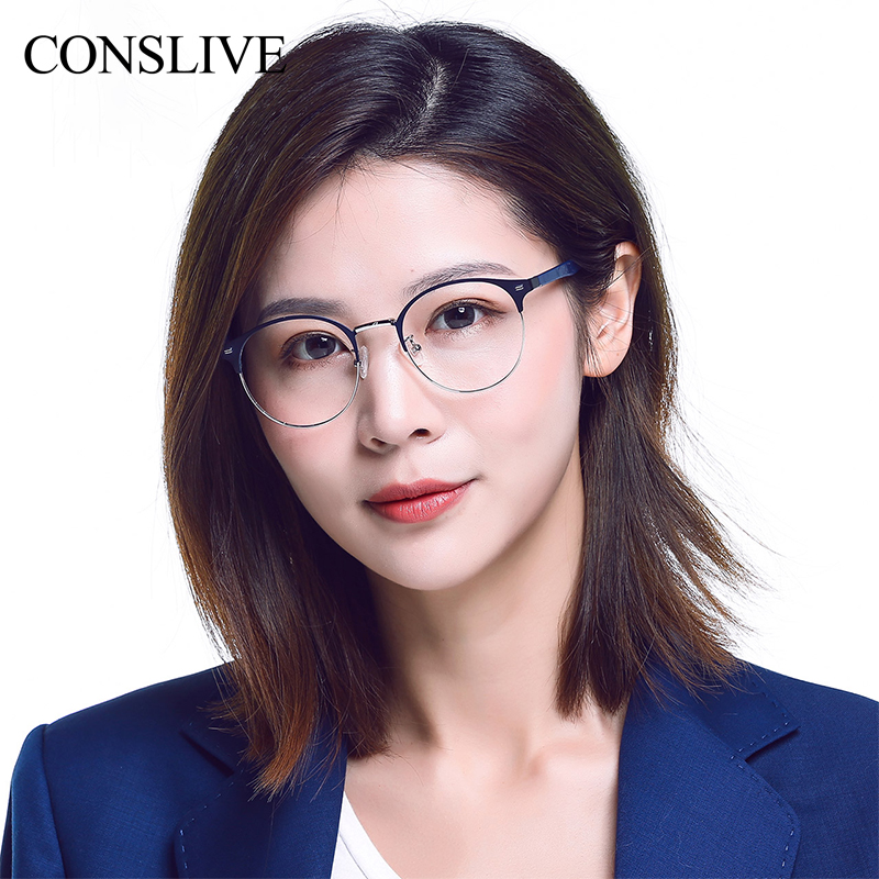 Blue Light Blocking Glasses Men Women Round font b Optical b font Eye Frame Anti Blue