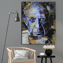 Pablo Picasso Self Portrait Wall Art Canvas Painting Posters Prints Modern Painting Wall Picture For Living Room Home Decoration self portrait facing death pablo picasso canvas painting living room home decoration modern wall art oil painting poster picture