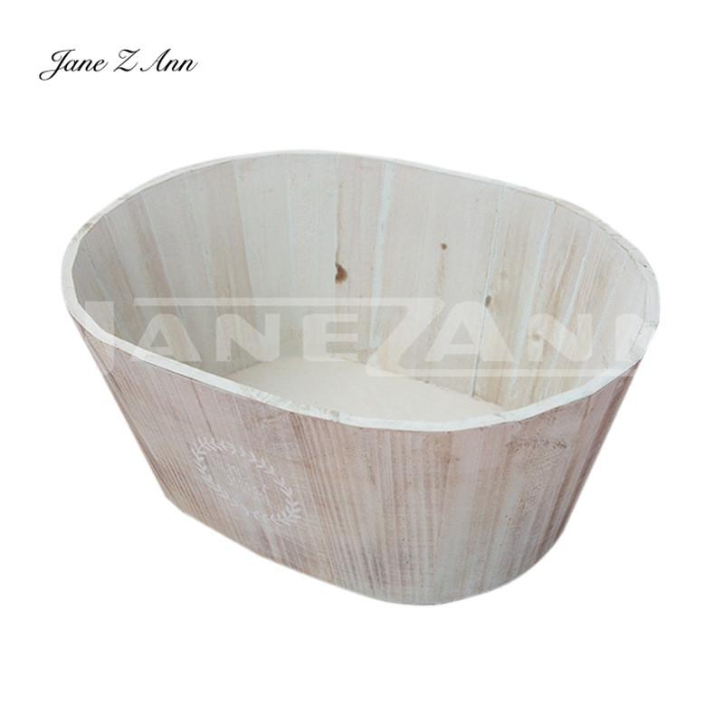 Jane Z Ann Newborn photo wooden basket infant photo assist frame ...