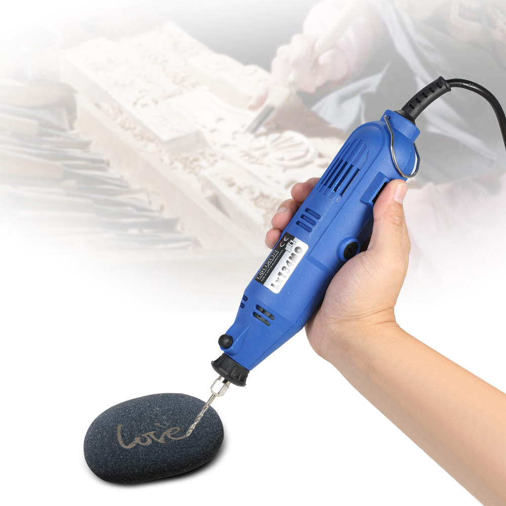 180W Electric Grinder dremel Drill engraver + 176-Piece Accessories Flex Shaft Cutting Engraving Grinding Sanding Tools AC220V 180w electric rotary grinder polish sanding tools kit ac 220v eu plug