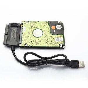 Image 5 - USB לide & USB כדי SATA כבל & ממיר קשיח חיצוני כונן אופטי כונן כונן USB כדי סידורי/יציאת מקבילית כבל 1 חליפה