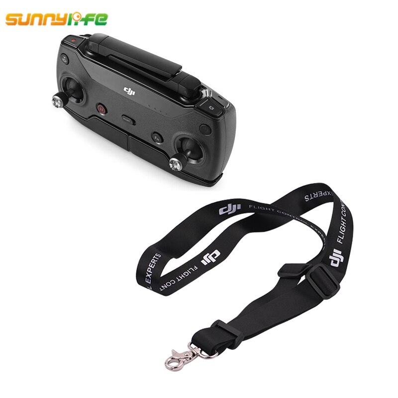 Sunnylife DJI Mavic Pro Mavic Air DJI Spark Remote Controller Shoulder Belt DJI Phantom 3 4 Transmitter Lanyard Strap Neck Sling