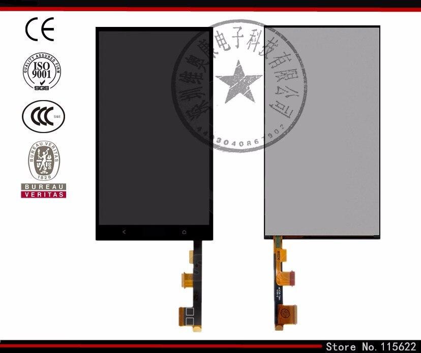 Pantalla lcd de pantalla para htc one max 803n teléfono celular (negro, con pant