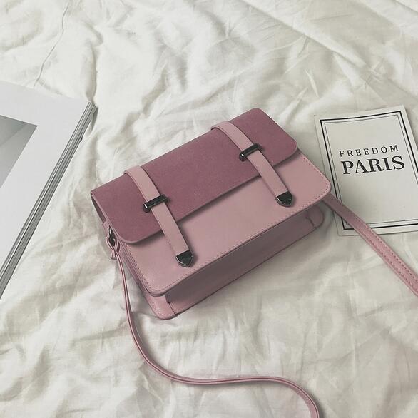 Vintage Fashion Handbags 2019 PU Leather Handbags Women's Designer Handbag Matte Arrow Stereotypes Ahoulder Bag Square Phone Bag