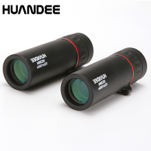 Buy hot selling 10X25 HD Monocular Telescope binoculars Zooming Focus Green Film Binoculo Optical Hunting High Quality Tourism Scope directly from merchant!