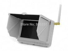 Free Shipping!Portable TE981H FPV Wireless DVR 5.8GHz 32CH 5″ HD Monitor Anti-sunshine Battery