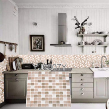 купить Modern Vintage Brick Wallpaper Embossed 3D Wall paper sticker Rolls For Bedroom Living room Sofa TV Background Tile Japan Style по цене 157.62 рублей