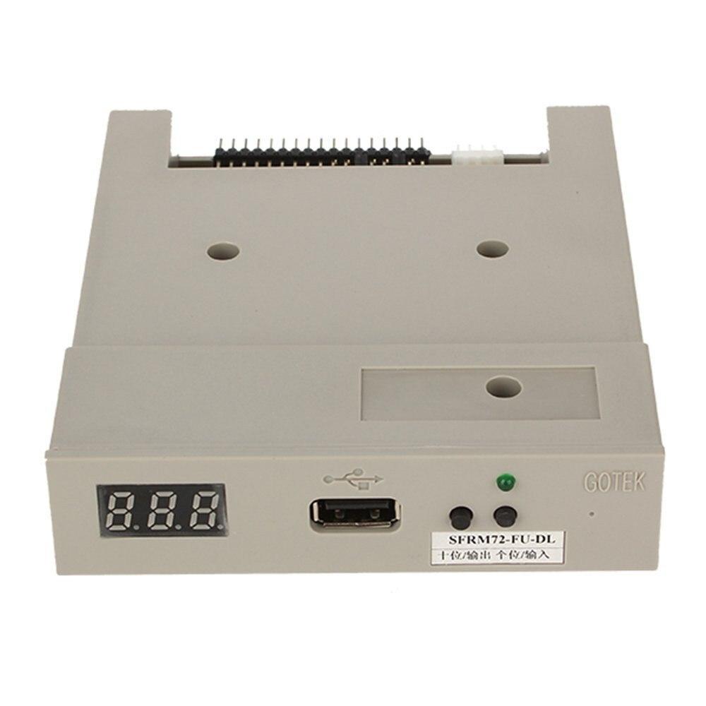 Gotek 3.5 SFRM72-FU-DL Lecteur de Disquette USB Émulateur pour 720KB Orgue Électronique