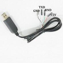 1 шт. модуль для Arduino USB TO RS232 TTL PL2303HX адаптер конвертер Модуль совета серийный обновления 1 м USB TTL кабель электронных DIY