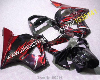 Good for Honda CBR900RR 954RR 02-03 CBR 900RR 2002-2003 954 spark black red Motorcycle Fairings set(Injection molding)