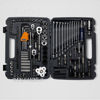120 Pcs Set Of Auto Repair Tool Kit Car Repair Package Multiple Sets Multifunctional Portable Tool