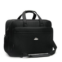 Men Briefcase 14 17 inch Laptop for Man Male Business Laptop Case Handbag Messenger bag Notebook Black