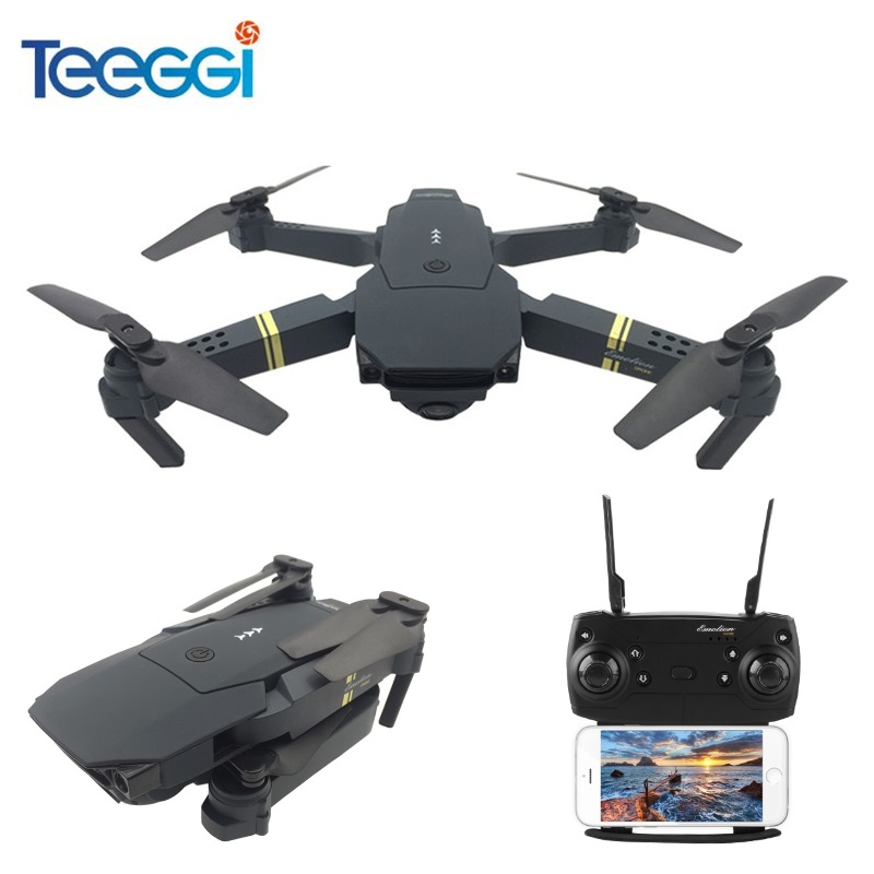 Teeggi M68 FPV RC Drone With Wide Angle HD Camera High Hold Mode Foldable Quadcopter Helicopter VS Eachine E58 VISUO XS809HW rc drone foldable aircraft helicopter fpv wifi rc quadcopter 2 4ghz remote control dron with hd camera vs visuo xs809w xs809hw