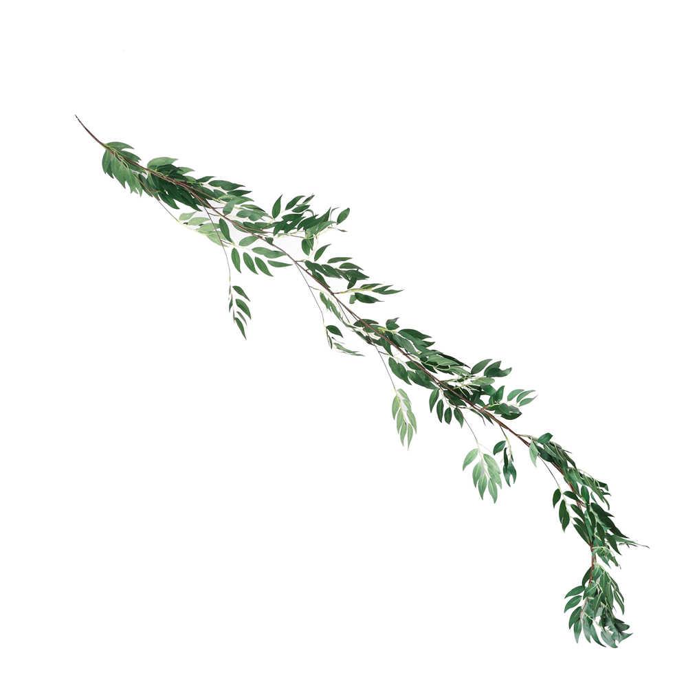 1.8m artificielle feuille guirlande plantes vigne faux feuillage fleurs pour la maison jardin décoration simulé vert plante
