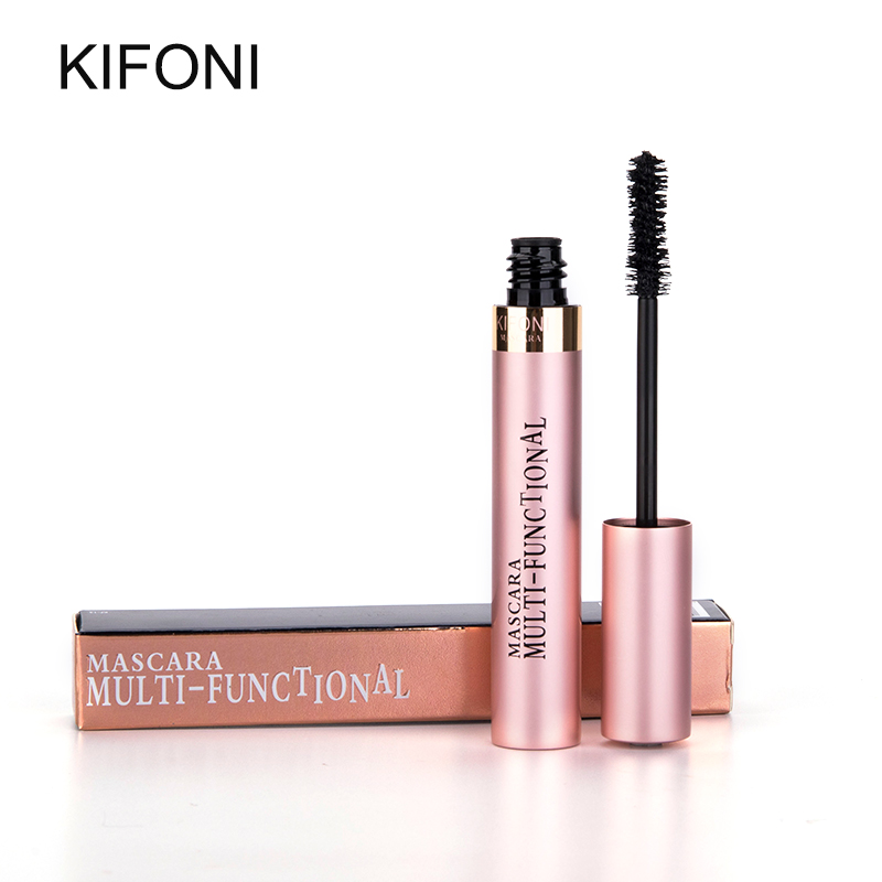 KIFONI makeup 4D Silk Fiber Lash Mascara Waterproof Rimel Mascara Eyelash Extension Black Thick Lengthening Eye Lashes Cosmetics 4