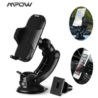 Dashboard Car Mount Universal Air Vent Adjustable Windshield Holder Cradle Strong Sticky Gel Pad For Phone
