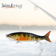 Mmlong 23.5cm Big Fishing Lure Artificial Baits AL11 16.2g Super Quality 11 Segments Swimbait Slow Sinking Crankbait Fish Tackle