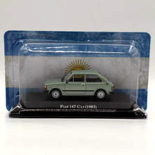 Altaya IXO 1:43 Fiat 147 CL5 1983 Toys Car Diecast Models Limited Collection Gift(China)