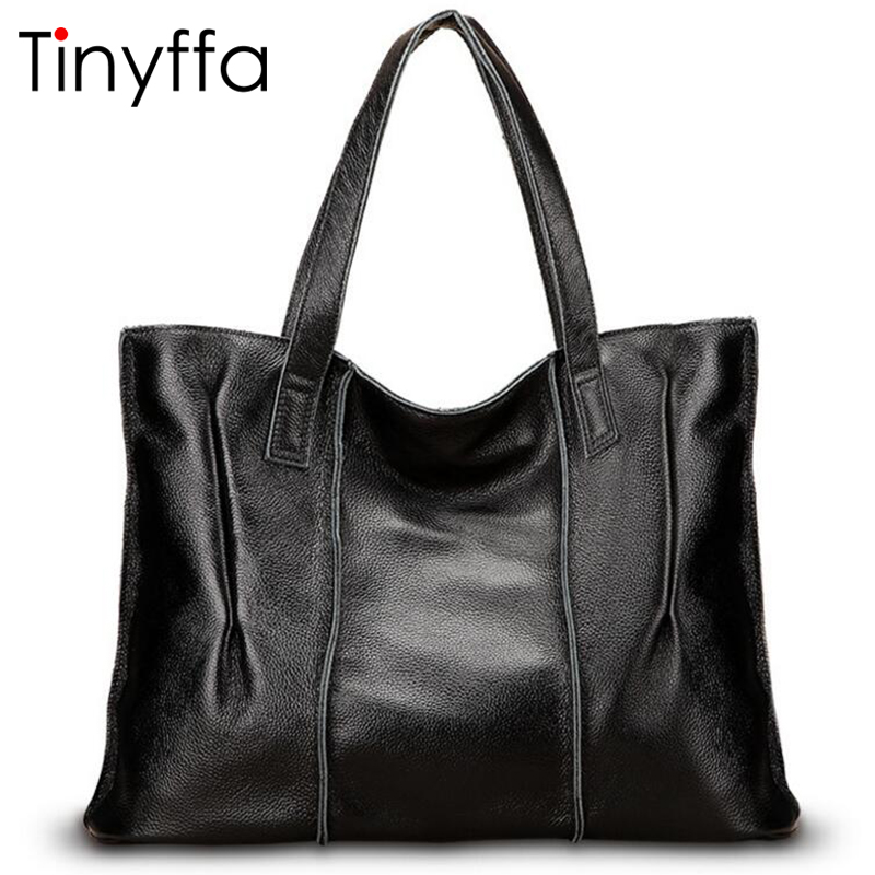Tinyffa Genuine leather bag Fashion Tote bag Luxury handbags women bags designer Famous brand Women messenger bags High quality