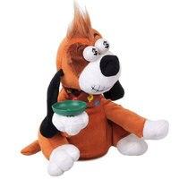 Electric Sounding Dog Cat Plush Doll Piggy Bank Intelligent Singing Shout Electric Pet Piggy Bank Toys