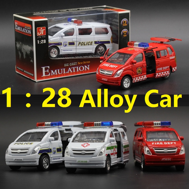 HOT Music and Flashing alloy Car Toys New 1:28 Scale Diecast Car Model Toys Police Edition Metal Pull Back Car Toy For Kids/Gift