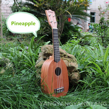 Soprano Ukulele 21 Inch Hawaiian Guitar 4 Strings Ukelele Pineapple Guitarra Uke Mahogany Handcraft Wood Musical Instruments