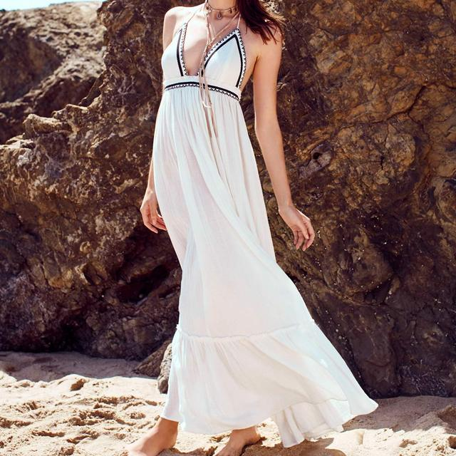 Hippie Backless Dress