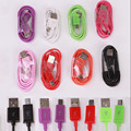 5  pieces/lot Colorful Micro USB Cable Data Sync Charger Cable For Samsung Galaxy  LG G2 G4 For Huawei p6  Smart phones